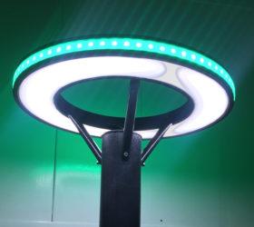 led лампа за паркове и градини модел - park40